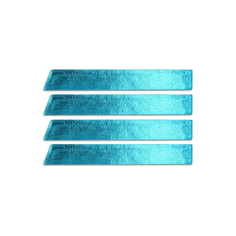 Skinny Stripe Sticker - Metallic Turquoise  (Includes 8 Stickers)