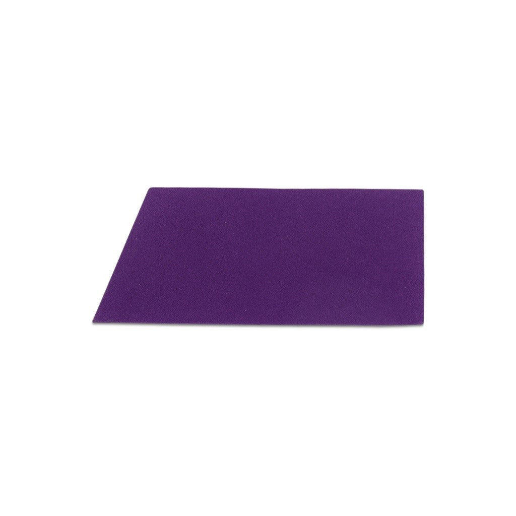 Velvet Wide Stripe Stickers - Purple (Includes 4 Stickers)