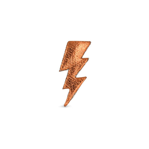 Small Bolt Sticker - Copper