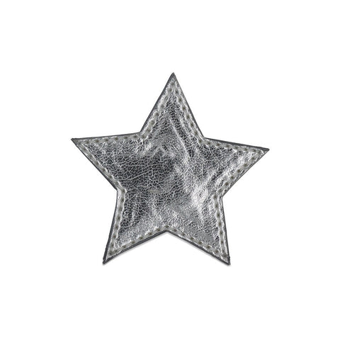 Star Shoe Cover -Silver