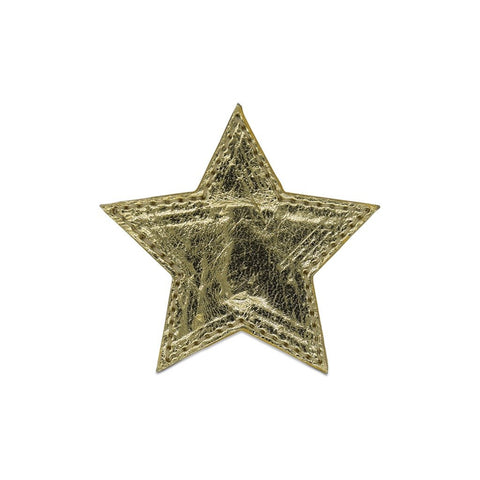 Star Shoe Cover - Gold