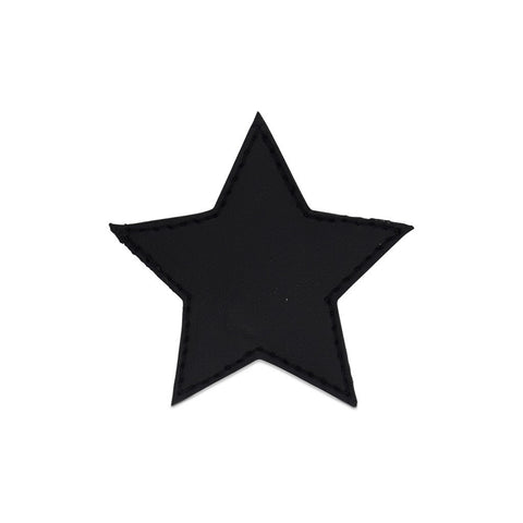 Star Shoe Cover - Black
