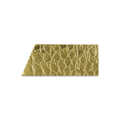 Wide Stripe Sticker-Gold Embossed (Includes 4 Stickers)