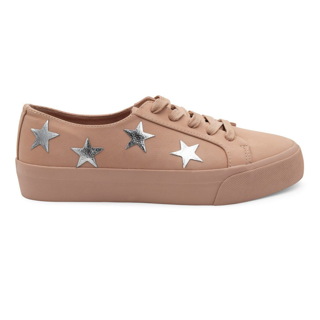 Small Star Sticker Patch - Silver Vegan Leather