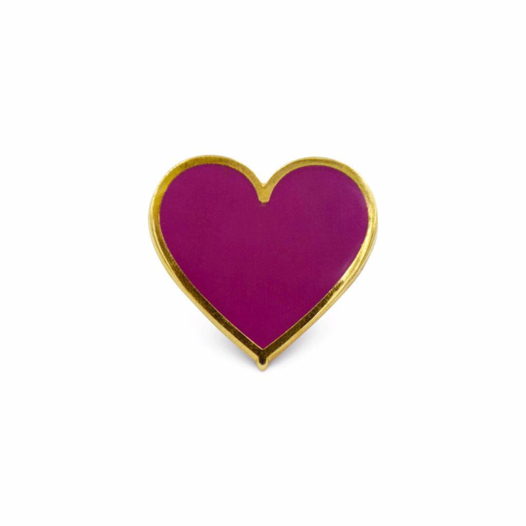 Heart Charm-Purple