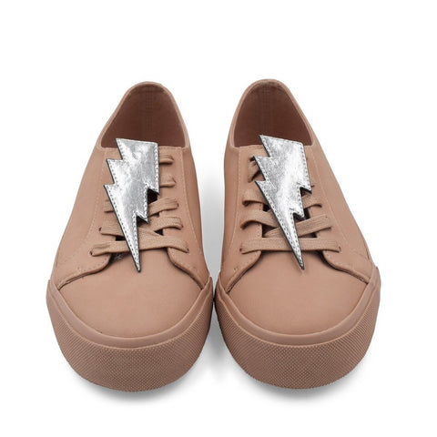 Bolt Shoe Cover - Silver