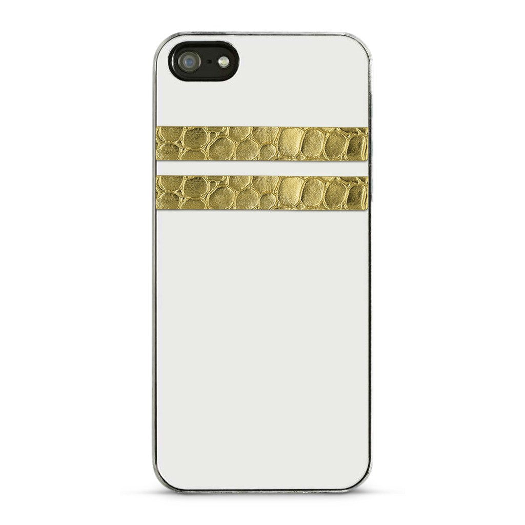 Skinny Stripe Sticker - Gold Embossed  (Includes 8 Stickers)