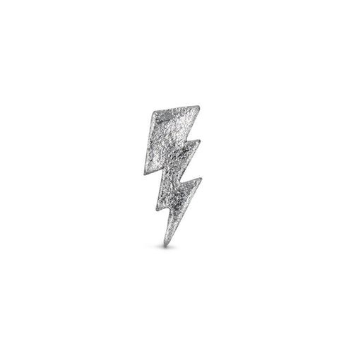 Small Bolt Sticker - Silver