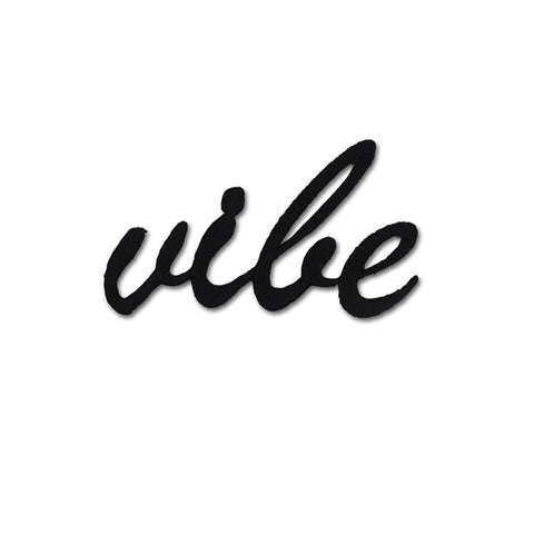 Vibe Embroidered Patch Sticker