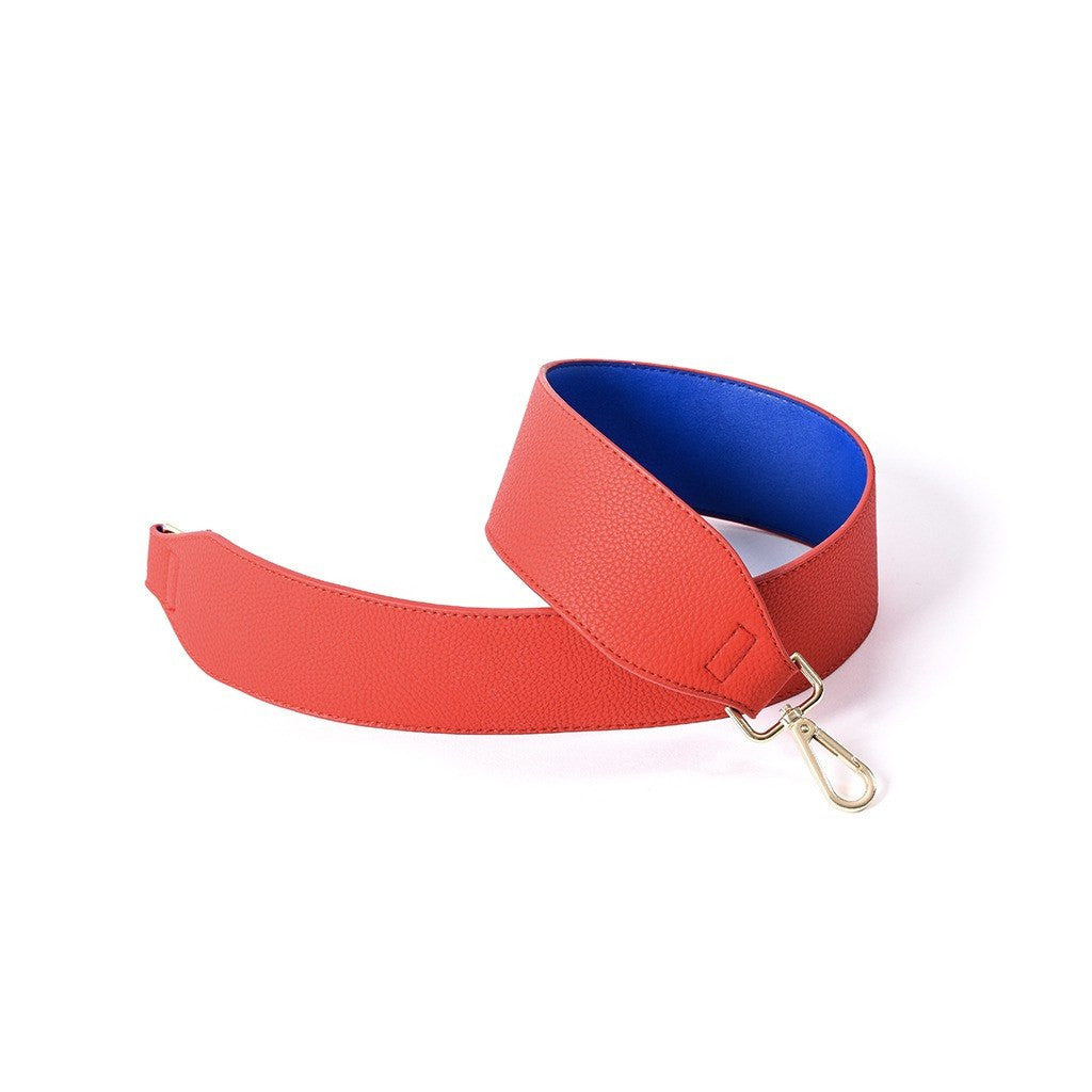Bag Strap - Red/Blue