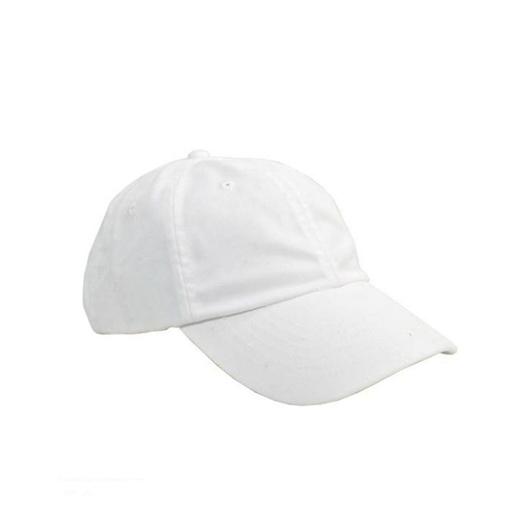 White Baseball Hat - FREE GIFT!
