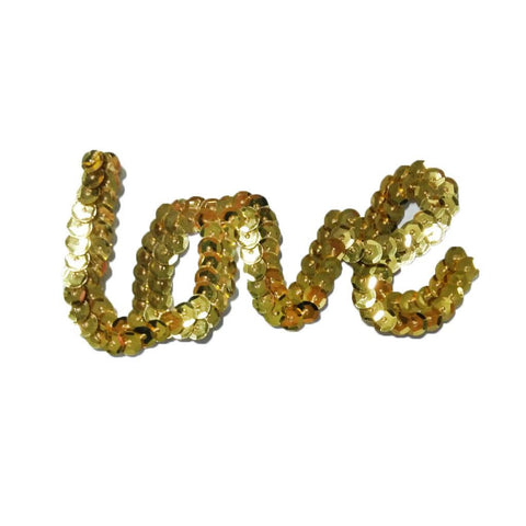 Sequin Love Sticker
