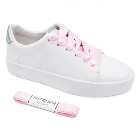 Satin Shoelace-Light Pink