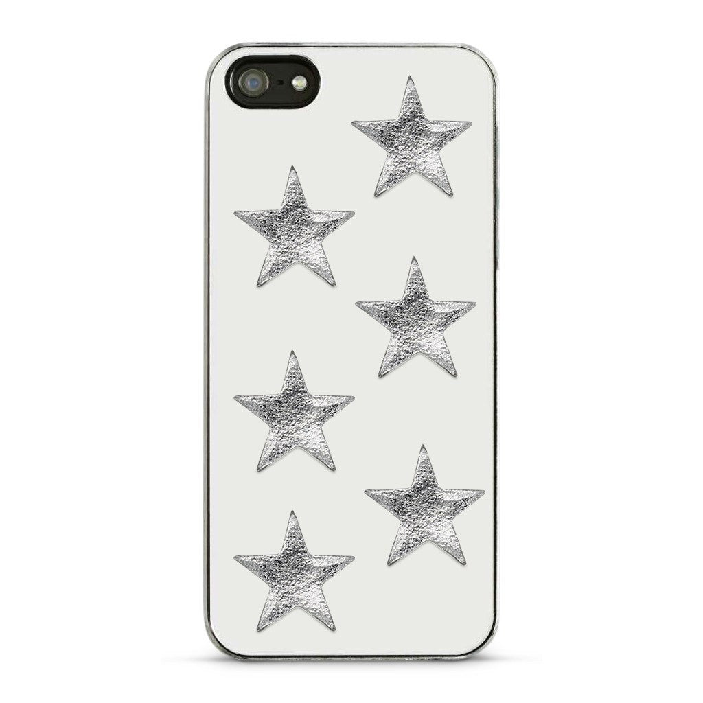Metallic Silver Star Stickers - 2 Pack