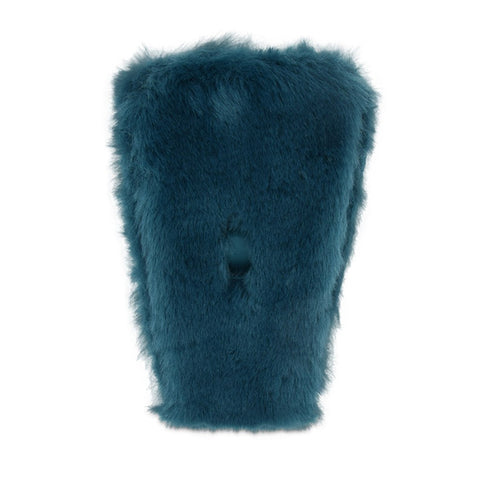 Tongue Pair - Teal Fun-Fur (2 Pack)