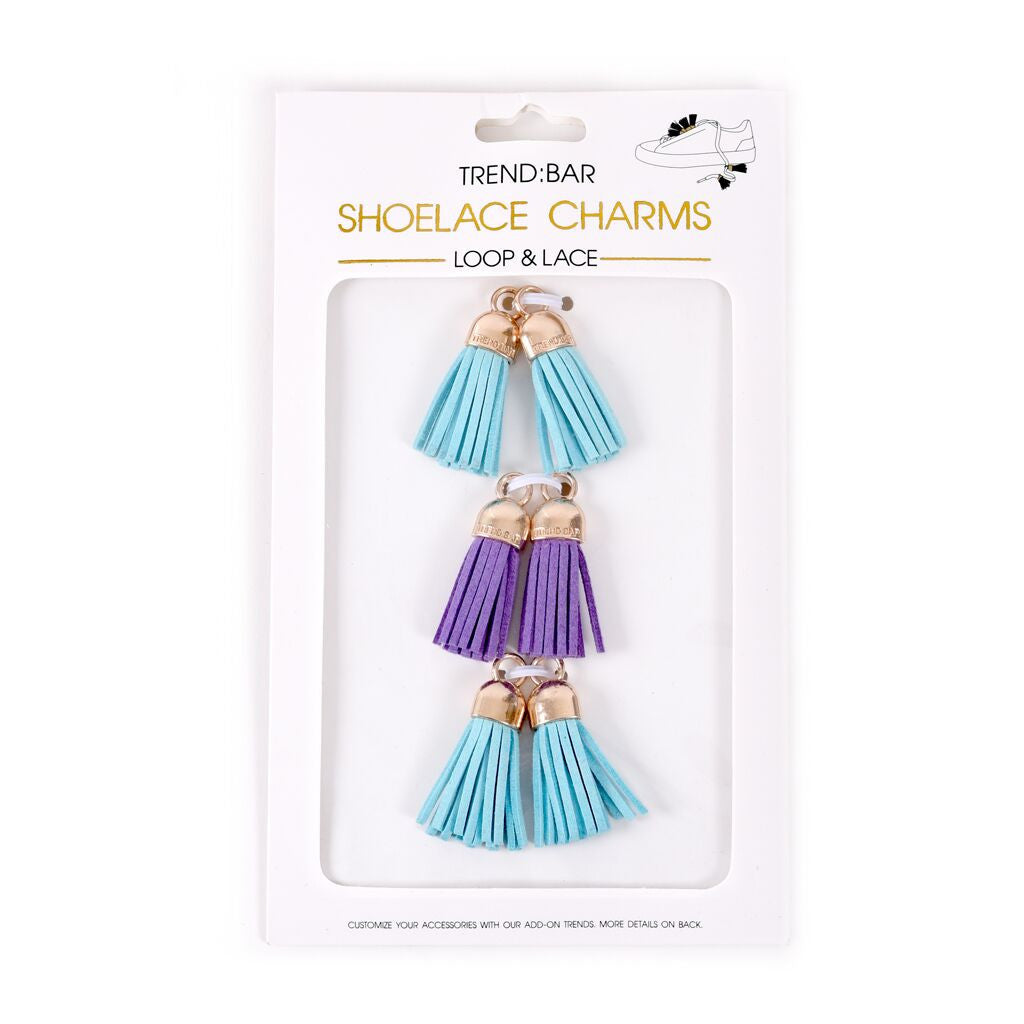 Tassel Pack - Light Blue/Lilac