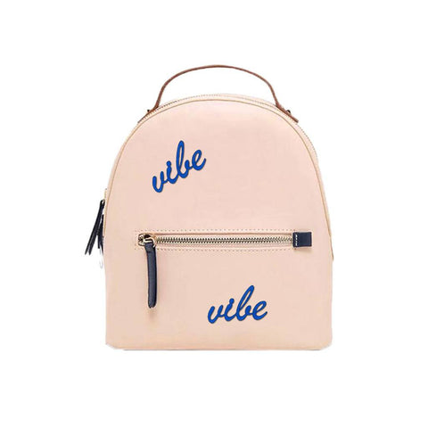 Vibe Embroidered Patch -Mid Blue