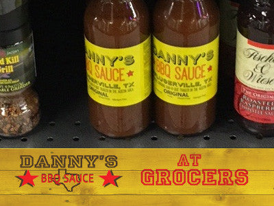 Danny's Sauce at Local Grocers
