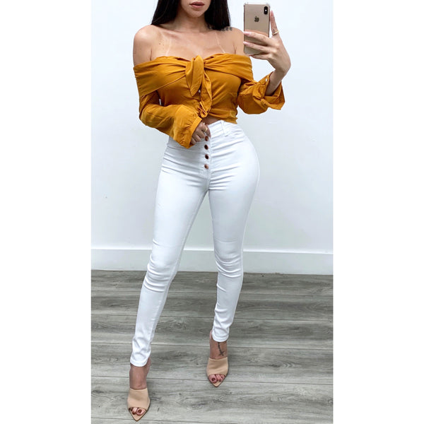 Cynthia Off The Shoulder Top