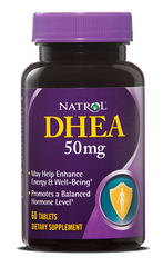 Natrol® DHEA 50mg 60 Tablets - Vitamin Hot Spot