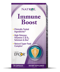 Natrol® Immune Boost 30 Capsules | Includes Power Of EpiCor® - Vitamin Hot Spot