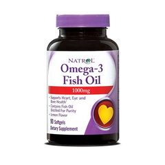 Natrol® Omega-3 Fish Oil 1,000mg 90 Softgels | Heart Health - Vitamin Hot Spot