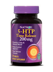 Natrol® 5-HTP 200mg 30 Time Release Tablets | Mood Enhancer & Relaxation - Vitamin Hot Spot