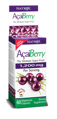 Natrol® AcaiBerry 1,200mg 60 Capsules | Ultimate Super Fruit - Vitamin Hot Spot