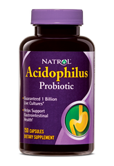 Natrol® Acidophilus Probiotic 100mg 150 Capsules | 1 Billion Live Cultures - Vitamin Hot Spot