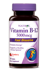 Natrol® Vitamin B-12 5,000mcg 100 Fast Dissolve Tablets - Vitamin Hot Spot