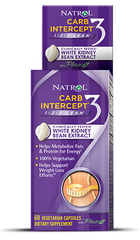 Natrol® Carb Intercept® Phase 3 60 Capsules - Vitamin Hot Spot