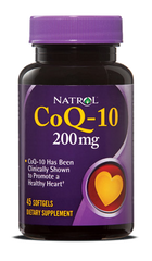 Natrol® CoQ-10 200mg 45 Softgels Healthy Heart | Convert Fats Into Energy - Vitamin Hot Spot