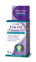 Natrol® Fish Oil + Vitamin D3 90 Softgels - Vitamin Hot Spot