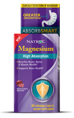 Natrol® Magnesium High Absorption 60 Tablets - Vitamin Hot Spot