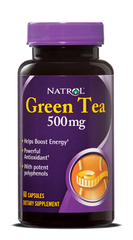 Natrol® Green Tea 500mg 60 Capsules - Vitamin Hot Spot