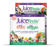 Natrol® JuiceFestiv 120 Capsules | Fruit & Veggie Superfood! - Vitamin Hot Spot