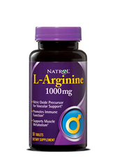 Natrol® L-Arginine 1,000mg 50 Tablets - Vitamin Hot Spot