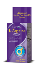 Natrol® L-Arginine 3,000mg 90 Tablets | Sexual Health | Erectile Function Formula - Vitamin Hot Spot