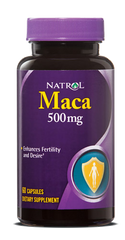 Natrol® Maca 500mg 60 Capsules | Sexual Health - Vitamin Hot Spot
