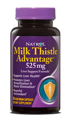 Natrol® Milk Thistle Advantage 525mg 60 Capsules - Vitamin Hot Spot