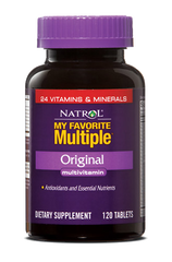 Natrol® My Favorite Multiple 120 Tablets | MultiVitamin & AntiOxidant - Vitamin Hot Spot