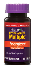 Natrol® My Favorite Multiple Energizer 60 Tablets | Energizing One A Day MultiVitamin - Vitamin Hot Spot