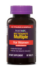 Natrol® My Favorite Multiple For Women 90 Tablets | MultiVitamin & AntiOxidant - Vitamin Hot Spot
