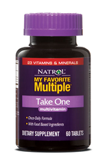 Natrol® My Favorite Multiple Take One 60 Tablets | One A Day MultiVitamin - Vitamin Hot Spot
