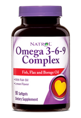 Natrol® Omega 3-6-9 Complex 90 Softgels - Vitamin Hot Spot