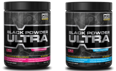 MRI® Black Powder Ultra - 240 Grams 40 Servings - Pre-Workout Formula | Watermelon & Blue Raspberry Flavors Available - Vitamin Hot Spot