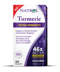 Natrol® Turmeric Extra Strength 60 Capsules | On Sale! - Vitamin Hot Spot