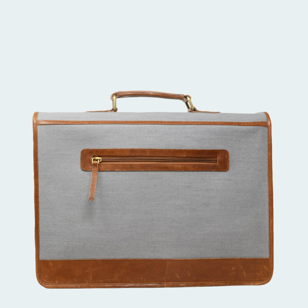 Clearance - Denim Briefcase
