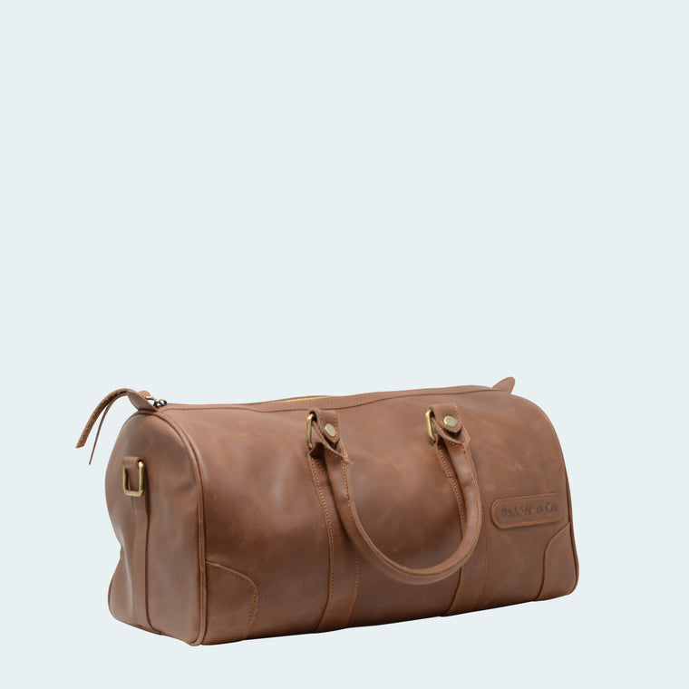 Mini Leather Duffle