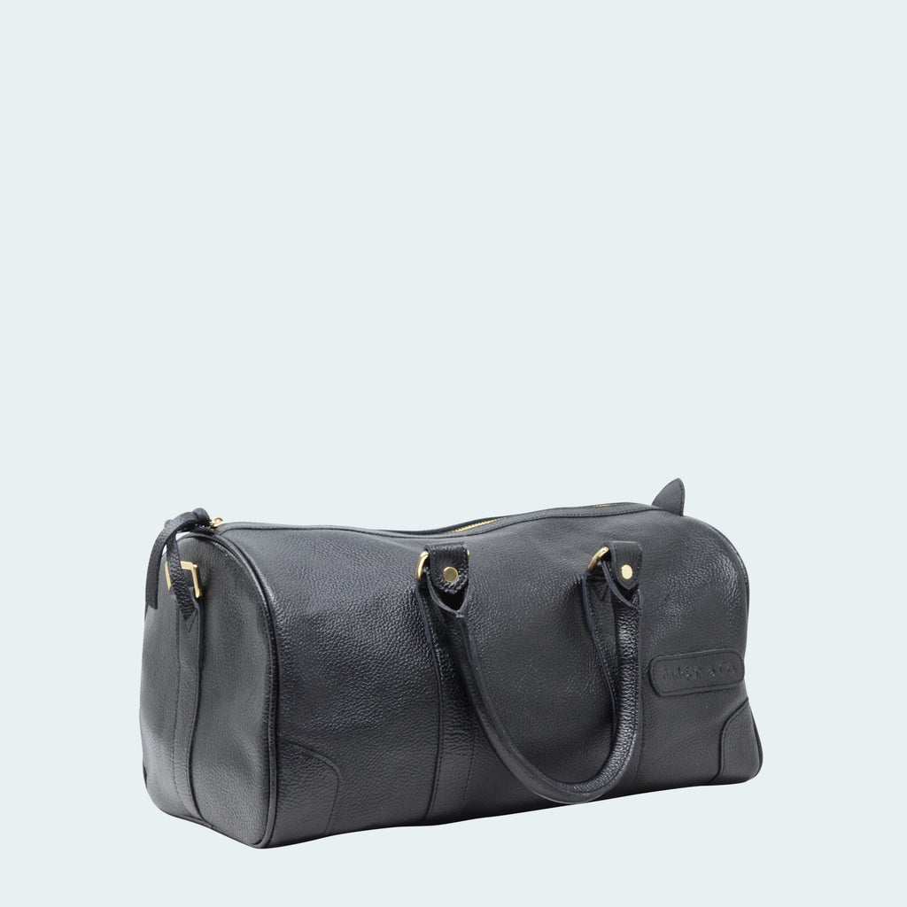 Clearance - Mini Leather Duffle